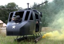 Paintball Helicopter