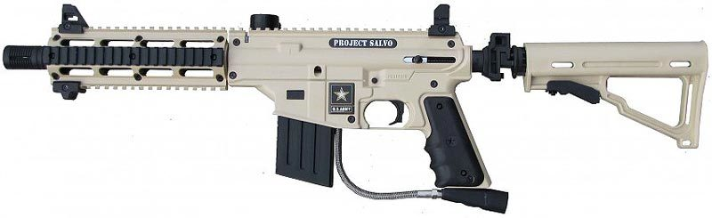 US army salvo paintball gun